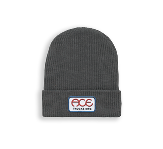Ace Rings Logo Beanie / Charcoal