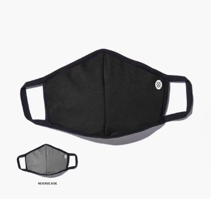 Stance Face Mask / Solid Black