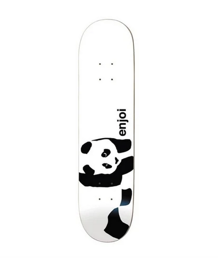 Enjoi Panda Logo R7 Deck / Whitey / Assorted Sizes