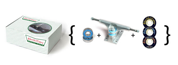 Snack Pack (Truck / Wheel / Bearing Combo) Various Sizes