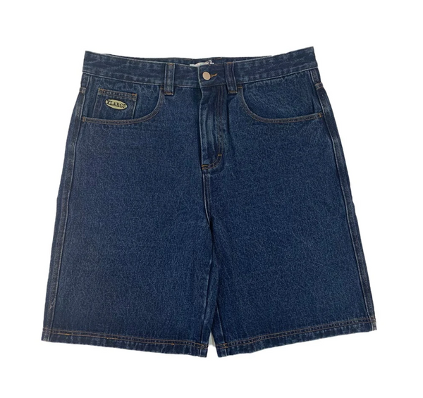 X-Large Baggie Denim Shorts / Blue