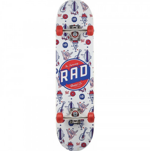 Rad Skate Co Wallpaper Complete / 7.75''