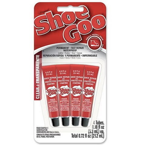 Shoe Goo Mini 4 Pack (5.3ML) / Clear