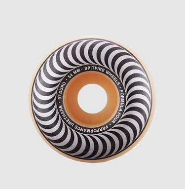 Spitfire Wheels F4 / 97D Classic Swirl / Natural