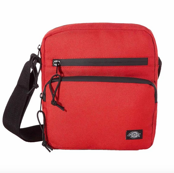 Dickies Gilmer Messenger Bag / Red