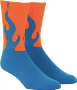 Psockadelic Flamer Orange/Blue