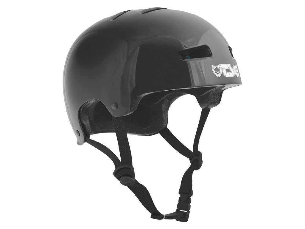 TSG Skate/BMX Injected Helmet Black - 335 Skate Supply