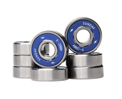 Sunday Hardware abec 5 Bearings - 335 Skate Supply