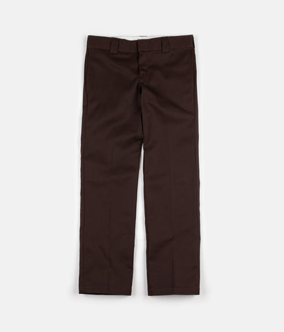 Dickies 873 Slim straight Work Pant / Chocolate Brown
