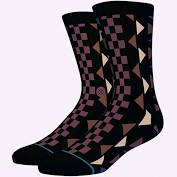 Stance Aztec Socks Black