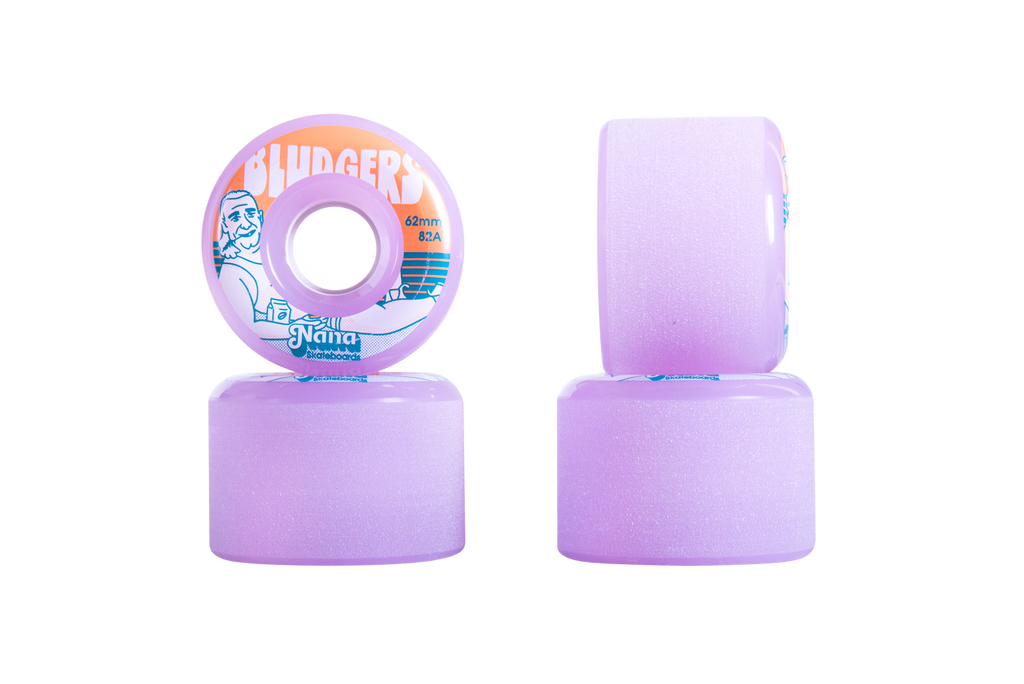 Nana Wheels Bludgers / Lavender / Assorted Sizes