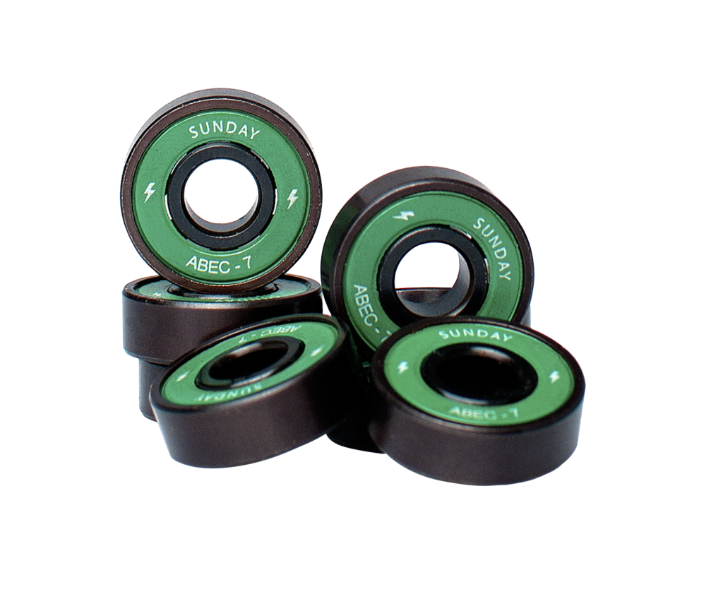 Sunday Hardware abec 7 Screamers Bearings - 335 Skate Supply