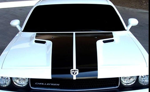 2011-2014 Dodge Challenger T Hood OEM Racing Stripes