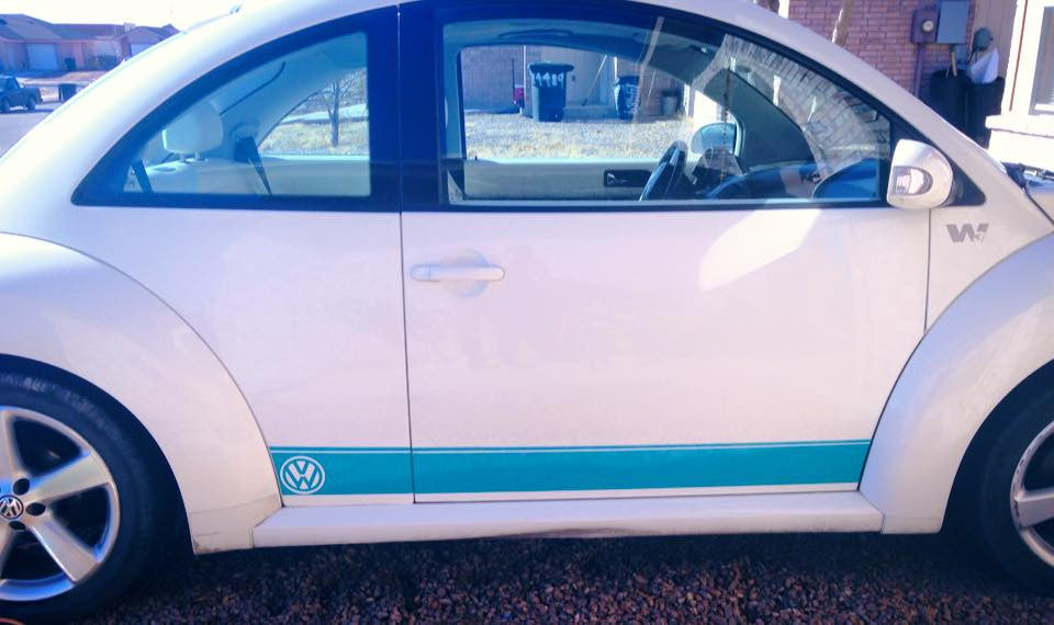 Volkswagon Bettle Side Panels Decals - ztr graphicz