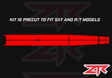 2015-2018 Dodge Challenger Dual Racing Stripes Vinyl Kit SXT R/T