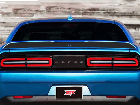 2015-2020 Dodge Challenger Custom Spoiler Blackout Decal