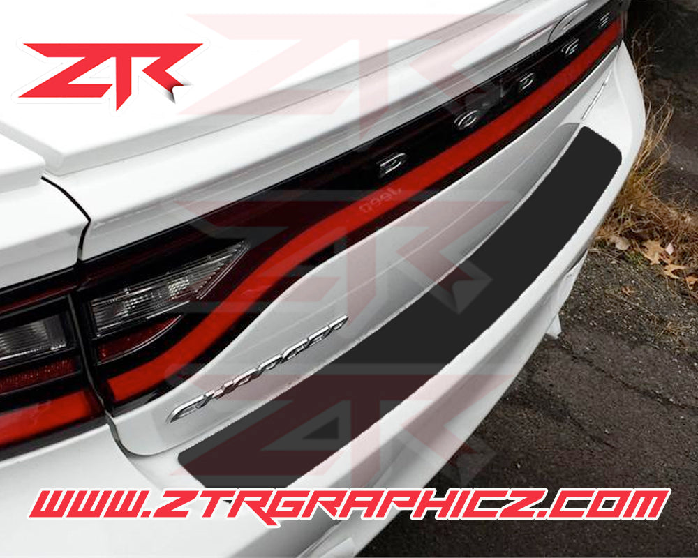 2015-2018  Dodge Charger Bumper Scratch Protector Vinyl Strip