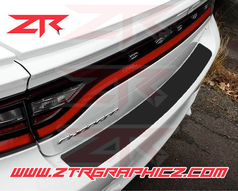 2015-2020  Dodge Charger Bumper Scratch Protector Vinyl Strip