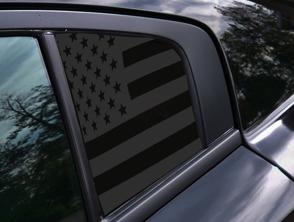 Dodge Charger American Flag Window Decals