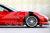 Chevy Corvette Dual Fender Stripe, Hash Mark, Stripe Decal Graphic Kit - ztr graphicz  - 2