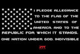 U.S.A Flag Pledge 2 - ztr graphicz  - 2