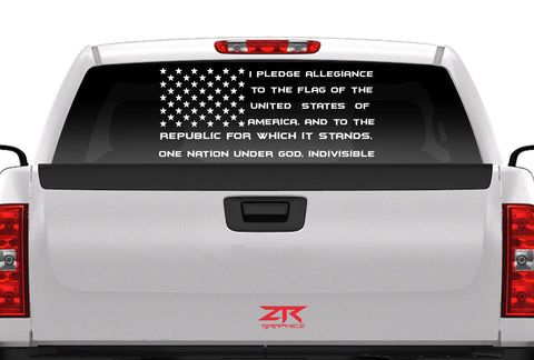 U.S.A Flag Pledge 2 - ztr graphicz  - 1