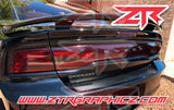 2011-2014 Dodge Charger Taillight Full Blackout Tint Kit