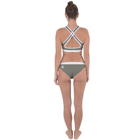 DDIIRO Cross Back Hipster Bikini Set