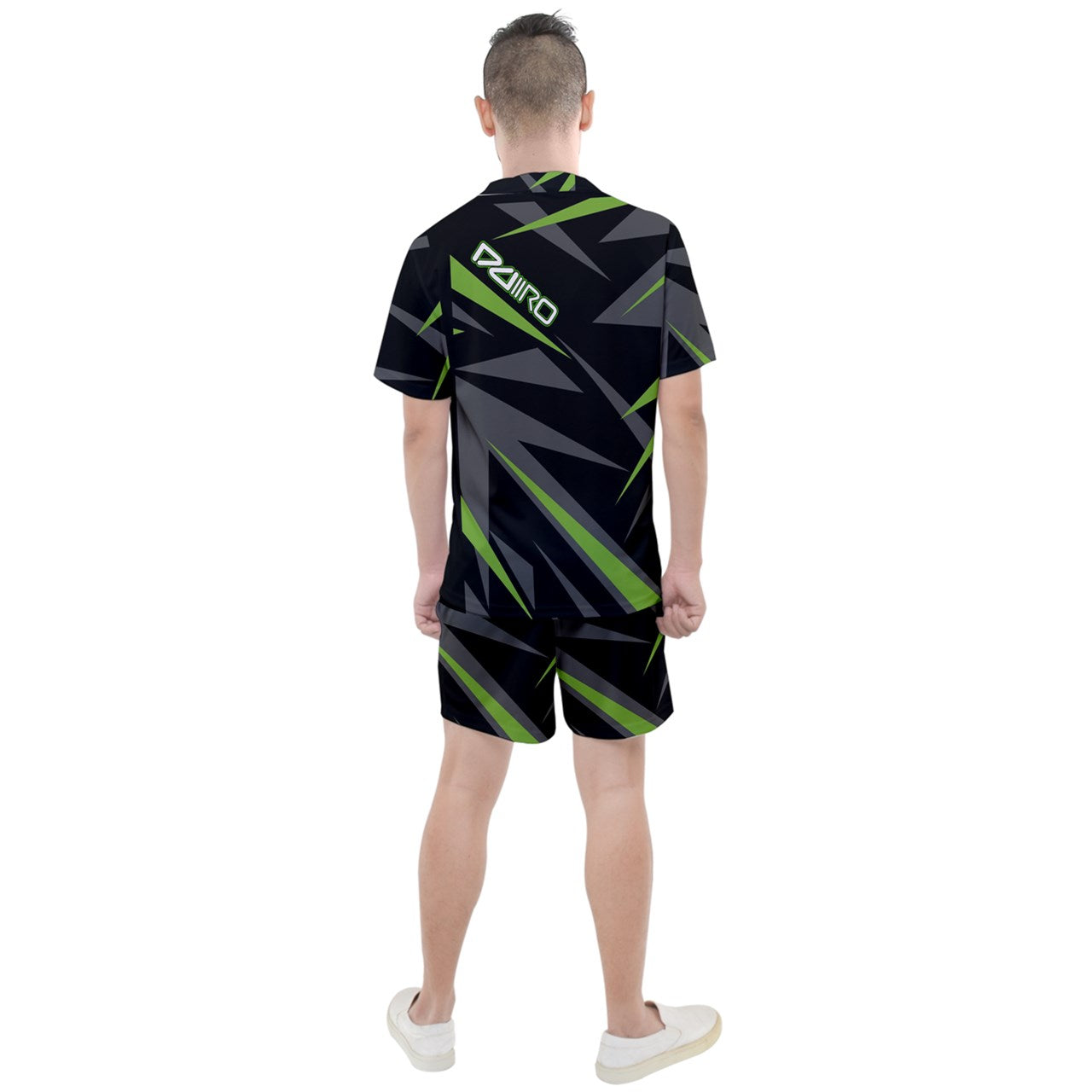DDIIRO Men Sports Tee and Shorts Set