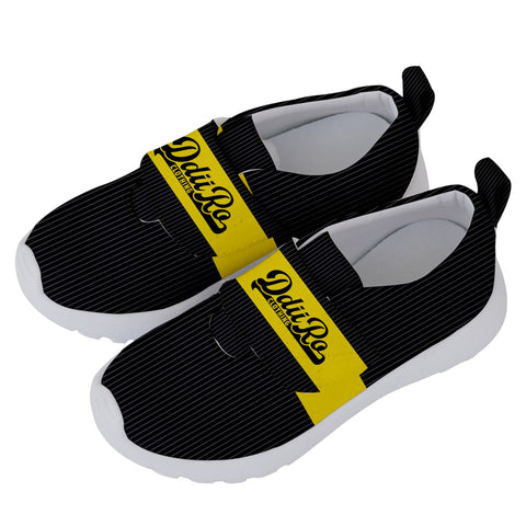 DDIIRO Kids' Velcro No Lace Shoes