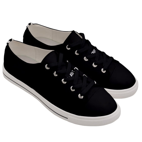 DDIIRO Men's Low Canvas Sneakers