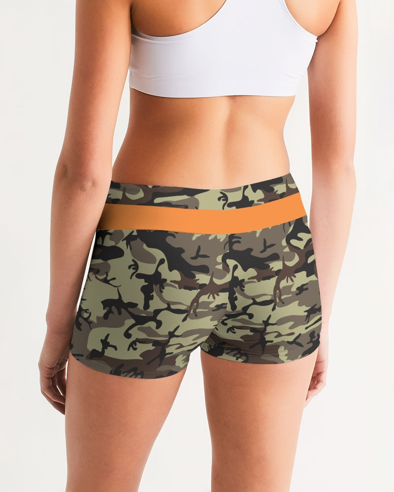 Women's Mid-Rise Yoga Shorts