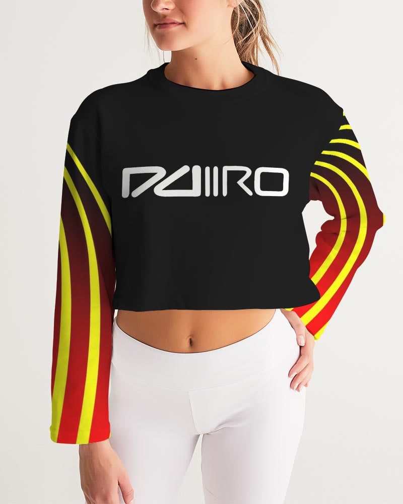 DDIIRO Rasworld Women's Cropped Sweatshirt