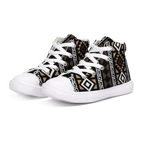 DDIIRO Kids Hightop Canvas Shoe