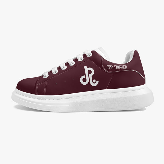 DDIIRO Low-Top Leather Sneakers