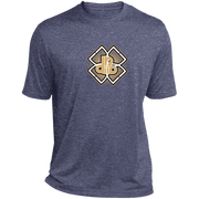 DDIIRO  Heather Dri-Fit Moisture-Wicking T-Shirt
