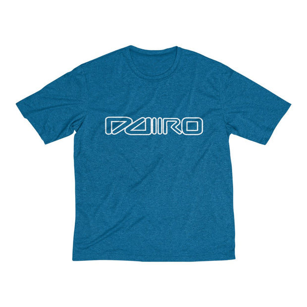 DDIIRO Men's Heather Dri-Fit Tee