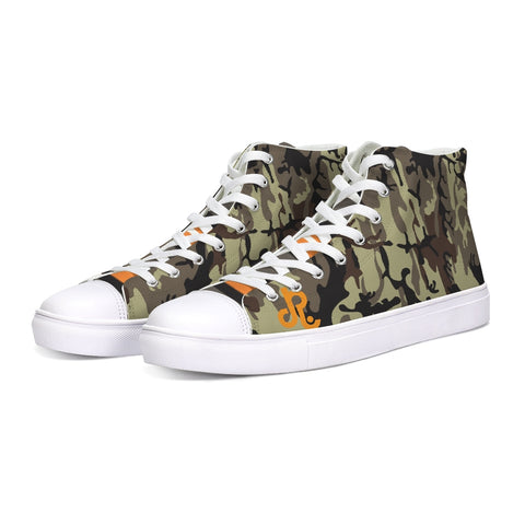 Street Wear Hightop Canvas Shoe