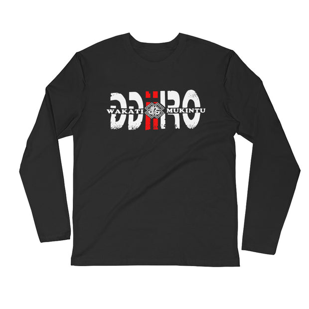 DDIIRO Long Sleeve Fitted Crew
