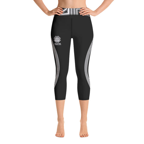DDIIRO Athletic Yoga Capri Leggings