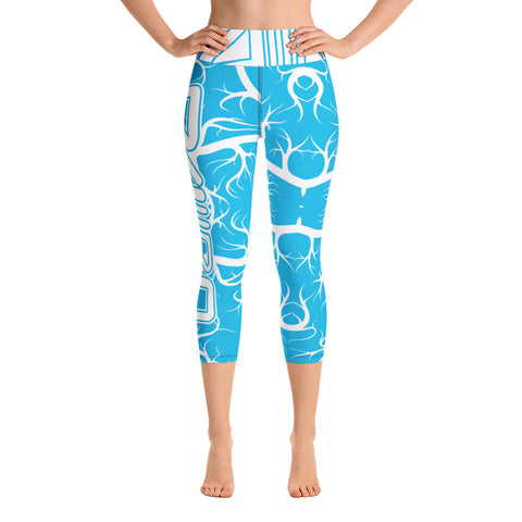 DDIIRO Light Blue Yoga Leggings