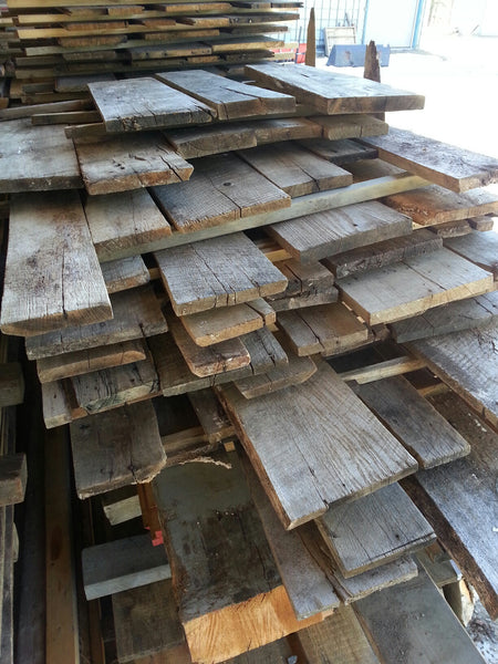 "Red Oak, Antique - 4/4, 4-10"", 3-5' - 165bf - SKU945"