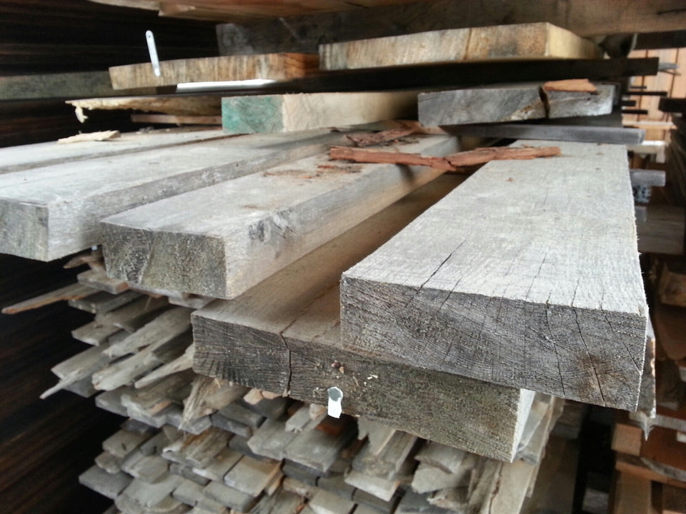 "White Oak - Some live edge - 8/4, 3-8"", 12' - 300bf - SKU988"