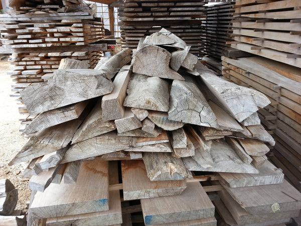 Teak, Live Edge Bundle Mixed Sizes- 250bf - SKU890