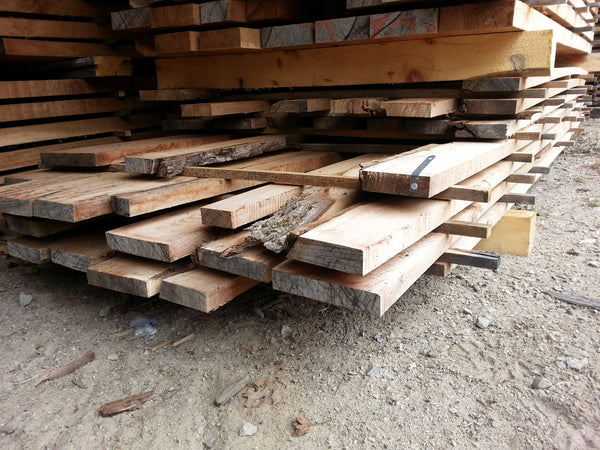 "Walnut - 5/4, 3-7"", 7-12' - 340bf - SKU883"