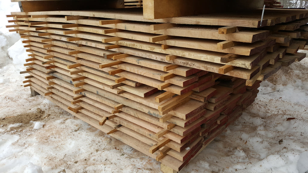 "Quartered Red Oak - 4/4, 6-7"", 6-8' - 380bf - SKU105"