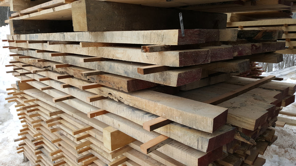 "Quartered Red Oak - 8/4, 4-6"", 7-8' - 330bf - SKU146"