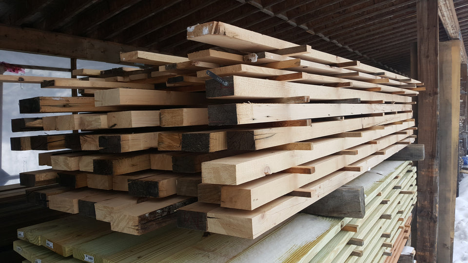 Hemfir Lumber - quartered, jointed, planed - SKU639