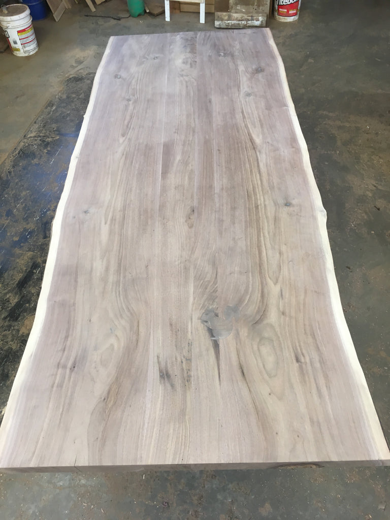 Incomplete Walnut Slab Table Top: Wal05