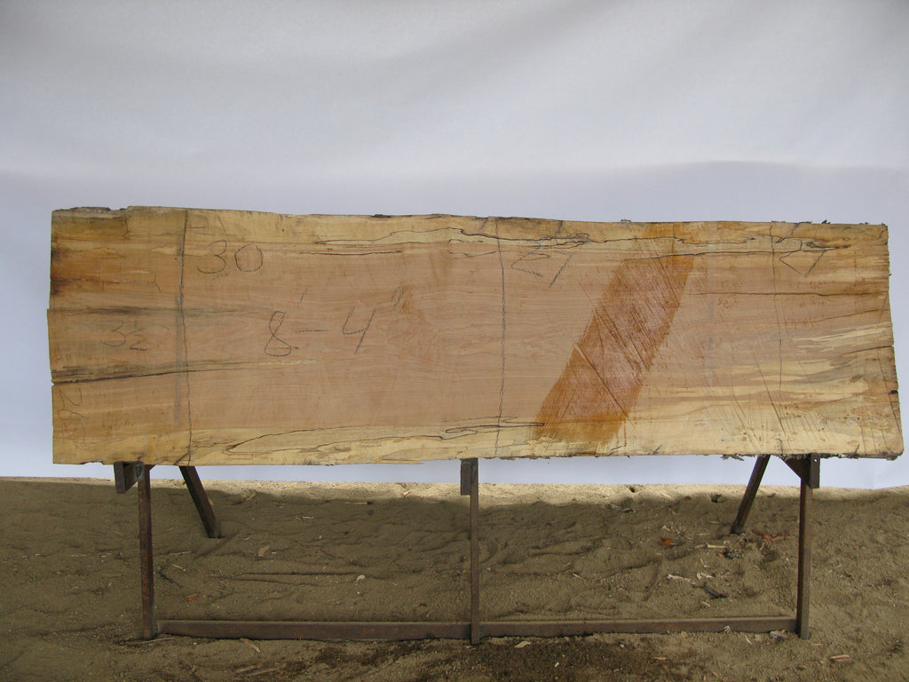 "Spalted Maple B Slab 3.5"" x 28"" x 8.3' SPM-268"